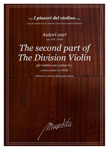 AA VV - The second part of the division violin (London, s.a.)