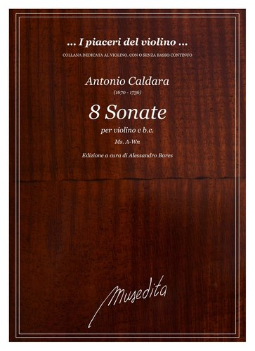 A.Caldara - 8 Sonate (Ms, A-Wn)