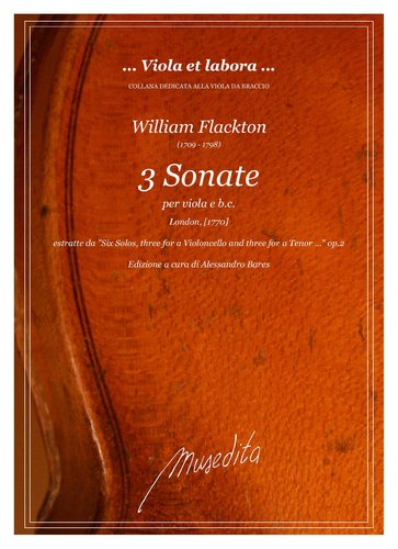 W.Flackton - 3 Sonate (London, [1770])