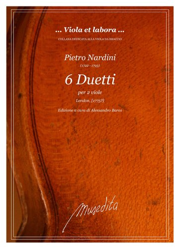 P.Nardini - 6 Duetti (London, [1775])