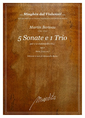 M.Berteau - 5 Sonate e 1 Trio op.1 (Paris, [1750 ca.])