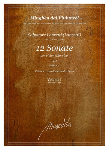 S.Lanzetti - 12 Sonate op.1 (Paris, s.a.)
