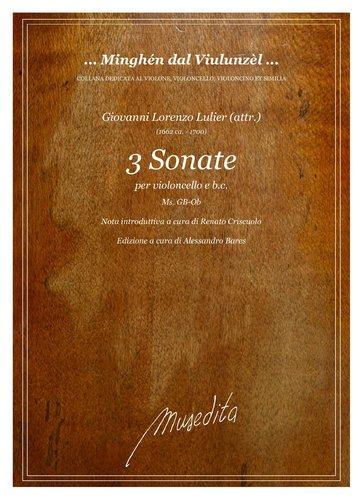 G.L.Lulier (attr.) - 3 Sonate (Ms, GB-Ob)