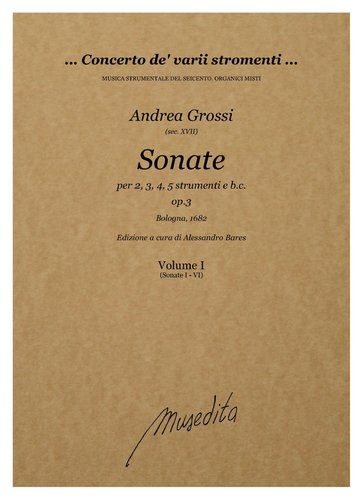 A.Grossi - Sonate op.3 (Bologna, 1682)