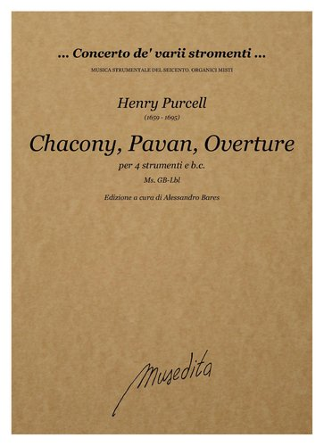 H.Purcell - Chacony, Pavan, Overture (Ms, GB-Lbl)