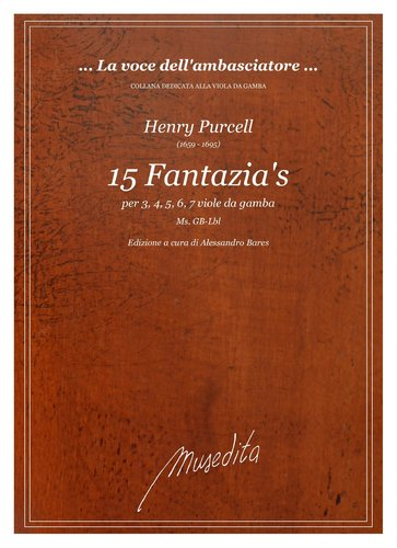 H.Purcell - 15 Fantazias (Ms, GB-Lbl)