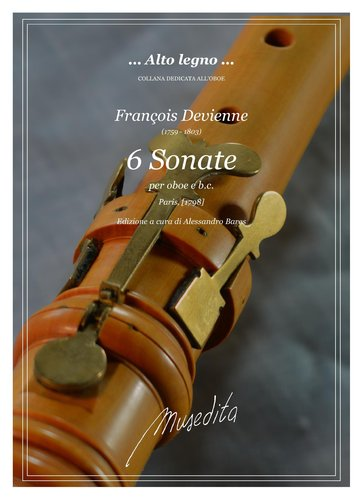 F.Devienne - 6 Sonate (Paris, [1798])