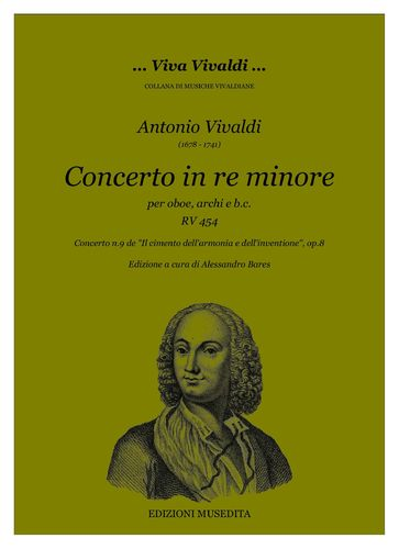 A.Vivaldi - Concerto in re minore RV 454