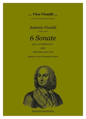 A.Vivaldi - 6 Sonate op.5 (Amsterdam, post 1723)