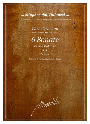 Graziani - 6 Sonate op.2 (Paris, s.a.)
